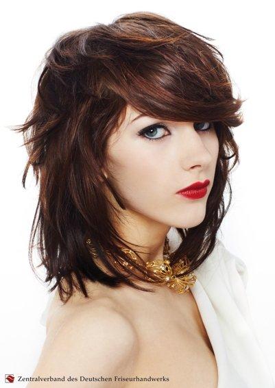 Frisuren Mittellang Kurzhaar Haarschnitte Haar Tattoo